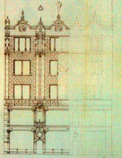 a thonet ház terve 1888 Lechner Ödön