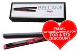 BELLAMI Runway Flat Styler Iron by Clip-In Hair Extensions | Professional Hair Styling Tools | Haircare by BELLAMI Hair | Clip-In Hair Extensions | Professional Hair Styling Tools | Haircare by BELLAMI Hair