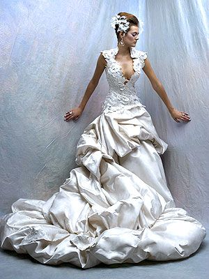 Gorgeous wedding dress.Thedress, Wedding Dressses, Ball Gowns, Fantasy Dress, Spanish Wedding, Dreams Wedding Dresses, Wedding Gowns, Dreams Dresses, The Dresses