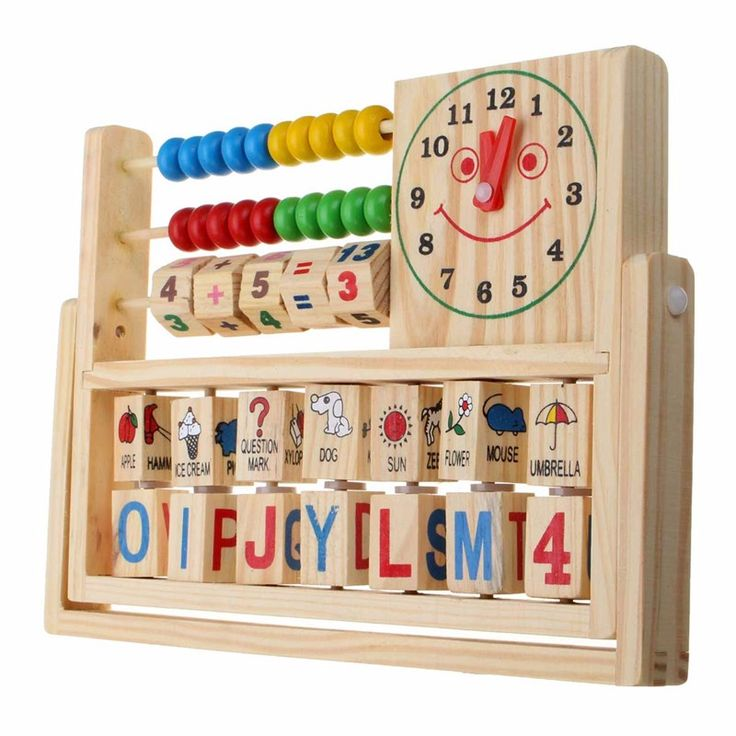#Wooden New Multi-Purpose Computation Frames Versatile Flap #Abacus #Learning #Kids #Toy