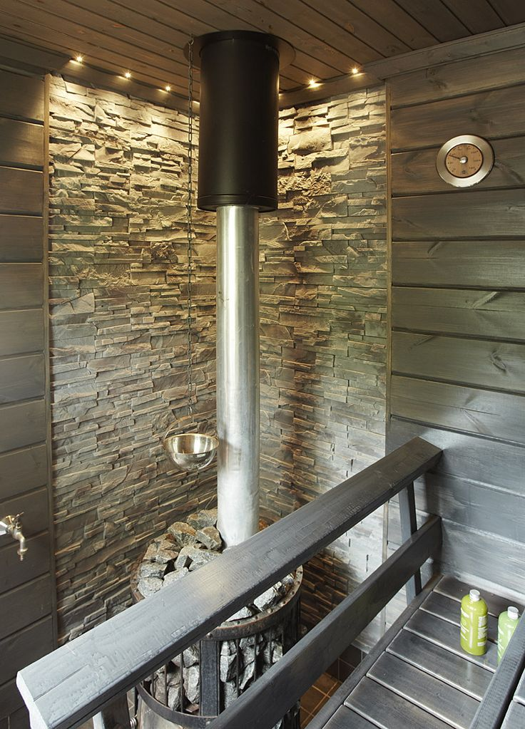 Sauna - design by decom