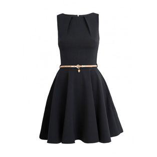 Closet Black Skater Dress   Price 65 euro