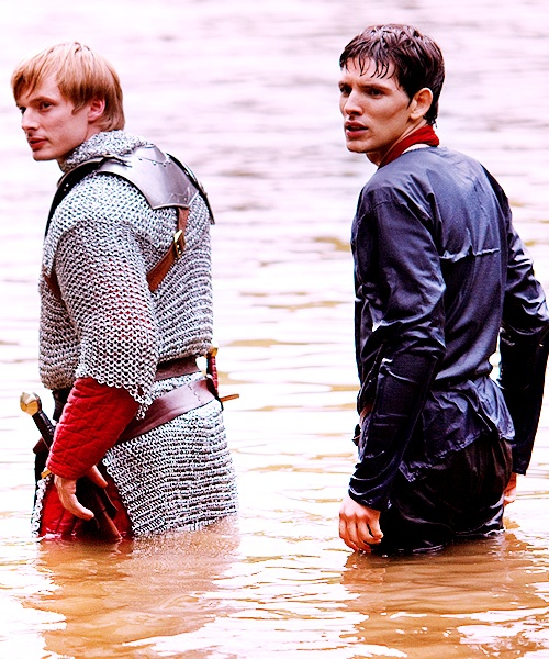 """I love how they constantly keep going to this lake where Merlin threw the sword (and no one is supposed to find it). One day someone is gonna be on a boat and they are going to fall in an """"find"""" the sword."""