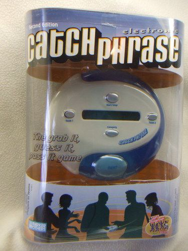 Electronic CATCHPHRASE Game 2nd Edition ~ Parker Bros./Hasbro 2004 Fast-Action!