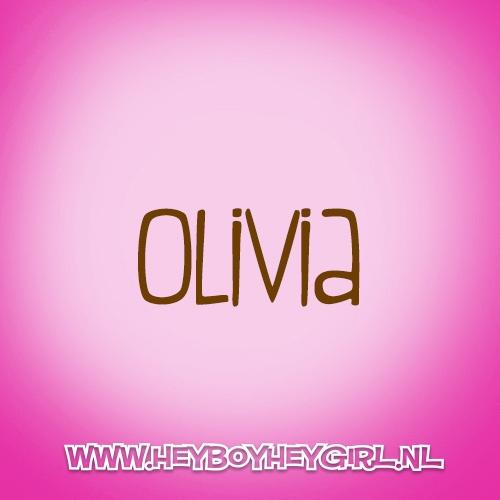 Olivia  (Voor meer inspiratie, en unieke geboortekaartjes kijk op www.heyboyheygirl.nl)