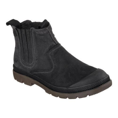 Skechers Men's Boots Relaxed Fit Milton Terson Pull On