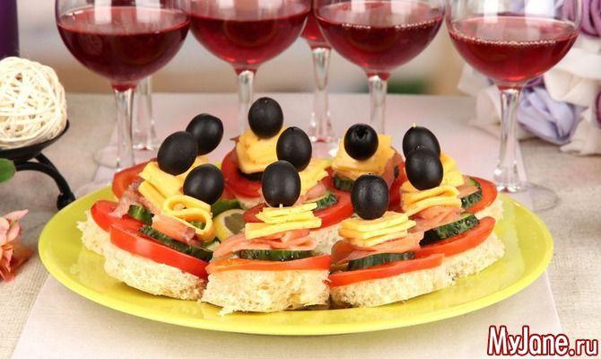 Угощение для вечеринки: аппетитные канапе