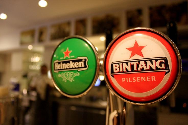 Oh yes, icy cold Bintang beer on tap!  www.batukaranglembongan.com