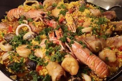Paella.een niet te overtreffen Spaans recept