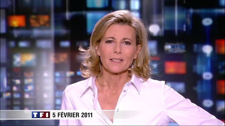 Claire Chazal, TF1