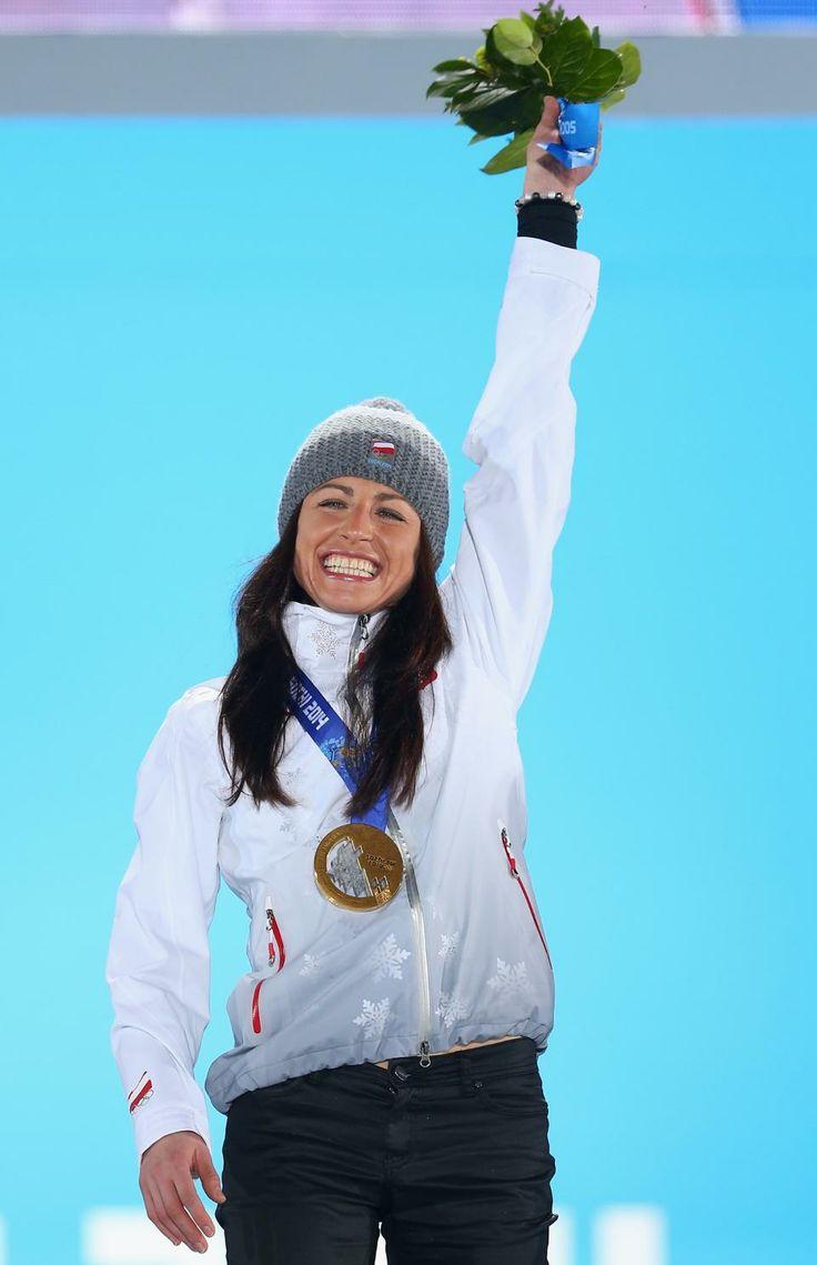 CROSS COUNTRY LADIES' 10km CLASSIC: Gold medalist Justyna Kowalczyk of Poland