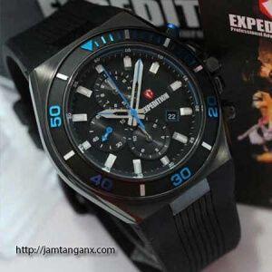 jam tangan expedition E6634 black blue original