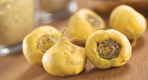 Anche la Maca, alimento originario del Perù, similmente alle bacche di Goji e ai semi di Chia ha straordinarie proprietà nutrizionali... http://www.macrolibrarsi.it/speciali/maca-le-virtu-salutari-del-tubero-degli-incas.php?pn=3148