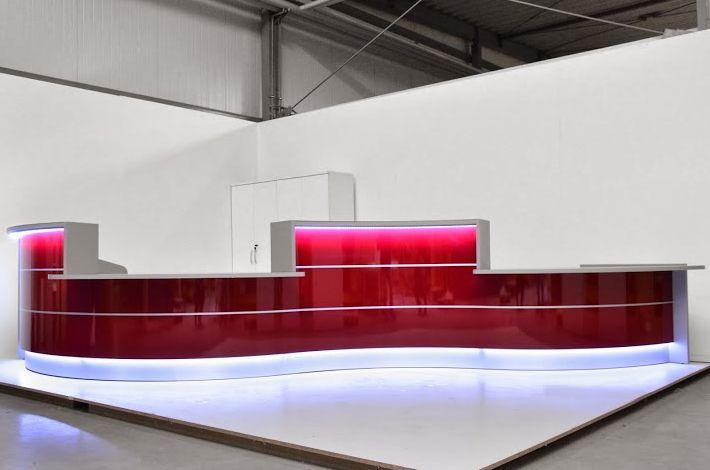 Lada recepcyjna VALDE #elzap #meblebiurowe #meble #furniture #poland #warsaw #krakow #katowice #office #design #officedesign #officefurniture #reception #receptiondesk #waitingroom  www.elzap.eu www.krzesla.krakow.pl www.meble-metalowe.com