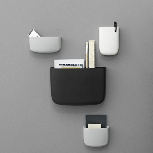 Designdelicatessen - Normann - Pocket 4 - vægopbevaring