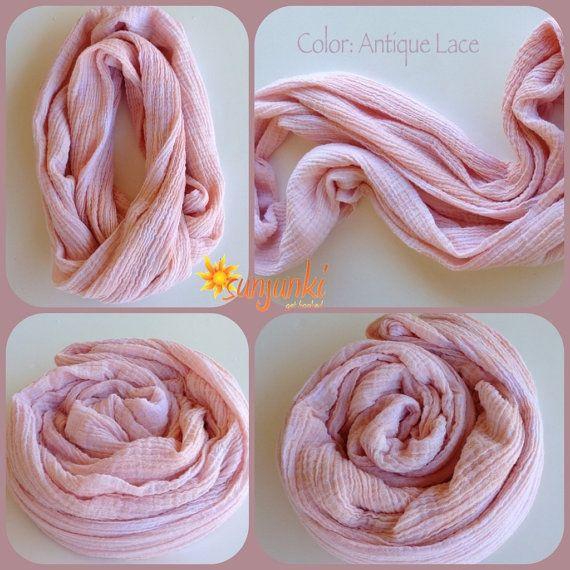Women Girl Teen Infinity Scarf Tie Dye Cotton Neck by Sunjunki 1900 Neck Scarf Tying For Women