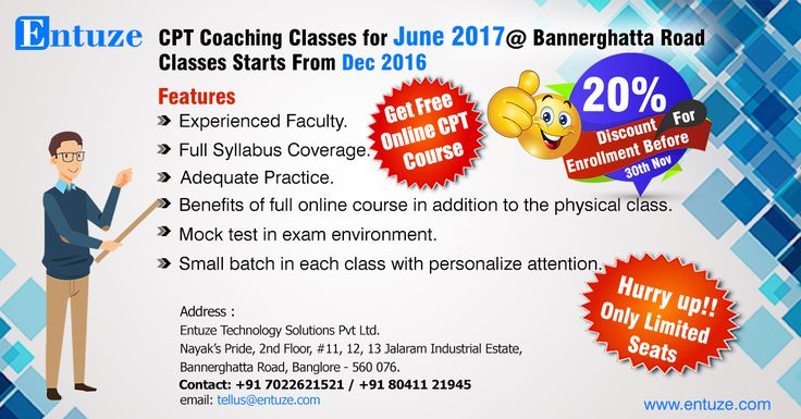 CA CPT Coaching Classes in Bangalore.  Free online cpt course, Experienced faculty,full syllabus coverage,etc.,