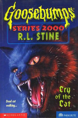 R.L. Stine. Goosebumps 2000 series, 'Cry Of The Cat.'