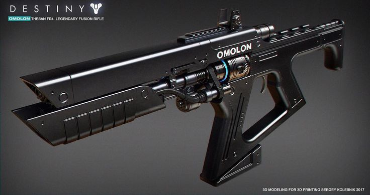 //Omolon thesan FR4 by Sergey Kolesnik// Hopefully in Destiny 2, we'll see omolon weapons. Hard light has a sleek aesthetic, and I hope we'll see it on sidearms,shotguns and heavies • • #destiny #destiny2 #crucible #raids #trialsofosiris #picoftheday  #fps #fantasy  #weapons #future #bungie #ps4 #xbox #space #videogames #gamer #pc #hypebeast #guns #xur #games #halo #art #destinythegame #bungie #destinyplayers  #future #robots #scifi #instapic…