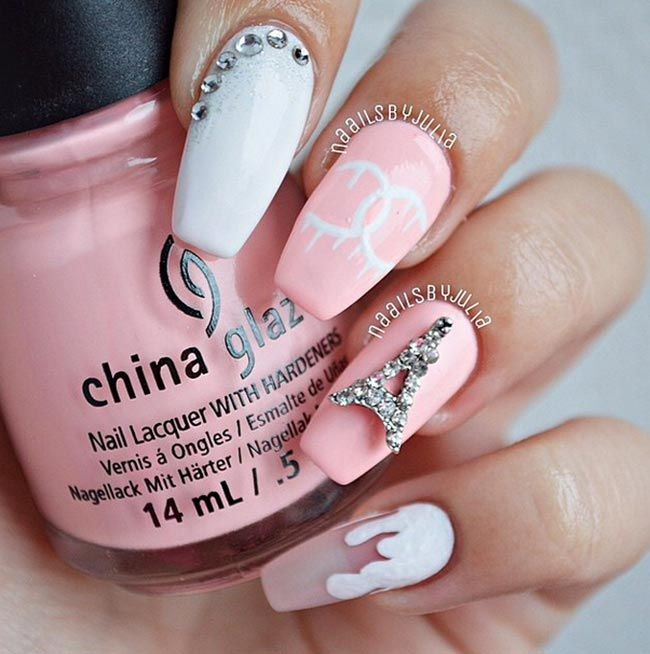 495 Best Style Of Nails Images On Pinterest Pretty Nails Cute
