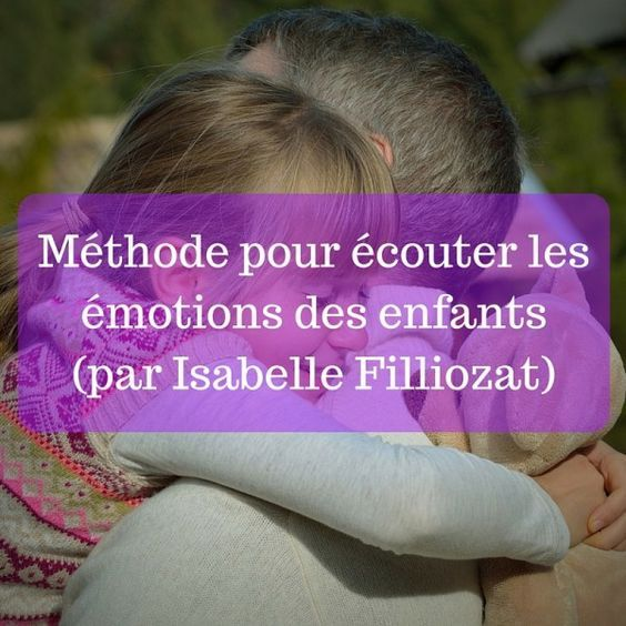 Method to listen to children's emotions (by Isabelle Filliozat)