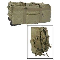 MIL-TEC® Taška / batoh na kolečkách ZELENÝ