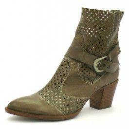A voir sur TRENZIA.FR. Boots Muratti taupe modèle R7263 à -34% sur Trenzia.fr. Boots pour femme, en cuir. Boots montées sur un talon de 5 cm, talon bottier. Livraison gratuite.