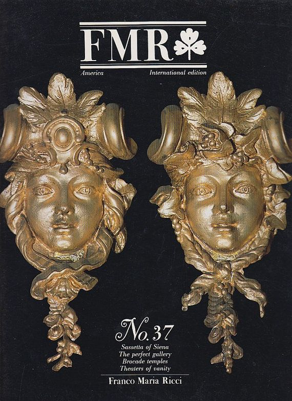 8 best fmr back issues images on pinterest coupon coupons and fmr magazine no 37 art magazine april 1989 franco by uncommoneye 20 off with coupon codes fandeluxe Gallery