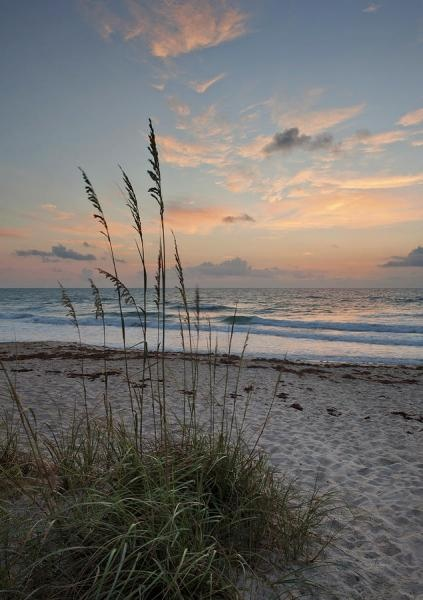 Melbourne Beach Sunrise Photograph by Cheryl Davis