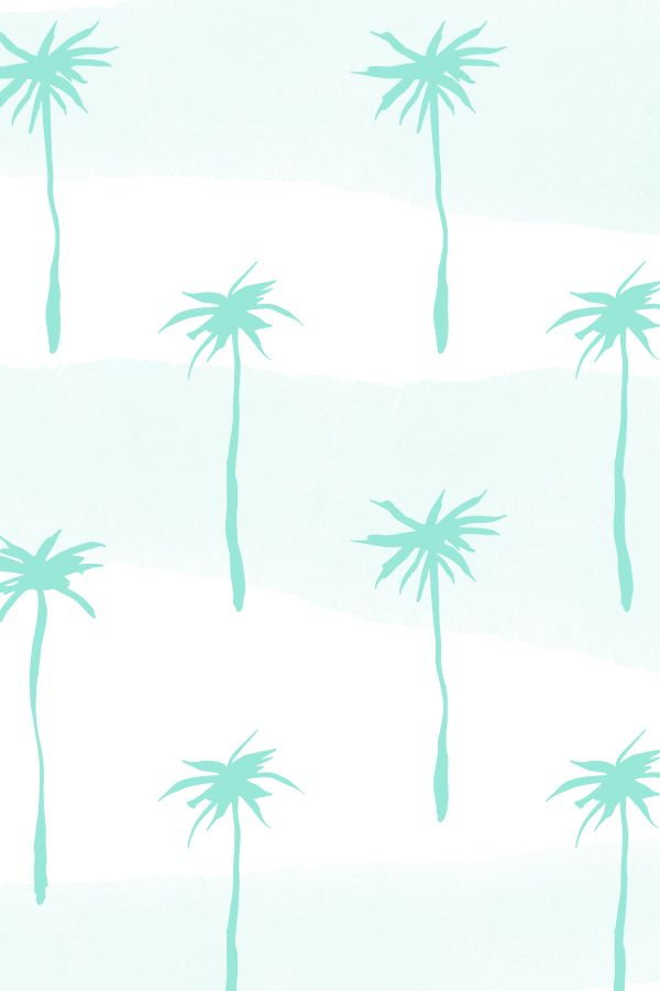 Pastel Palm, patterns by Caroline Cupcake. by Caroline Cupcake, via Behance #SS15 #SS16 #tropical #palm #pattern #print #pastel #pastelpalm #textile #design #mint #aqua #turquoise #palmtrees #trees #shade #beach #fashion #shade #repeat