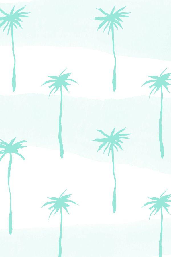 Pastel Palm, patterns by Caroline Cupcake. by Caroline Cupcake, via Behance…