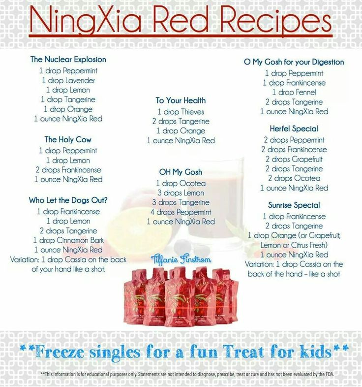 A shot a day is all it takes! Try one of these recipes with your next ounce of Ningxia Red. Make sure to tell me your favorite! Www.facebook.com/wholymomsenseeo