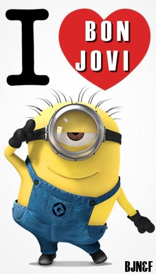 even Minions Love Bon Jovi