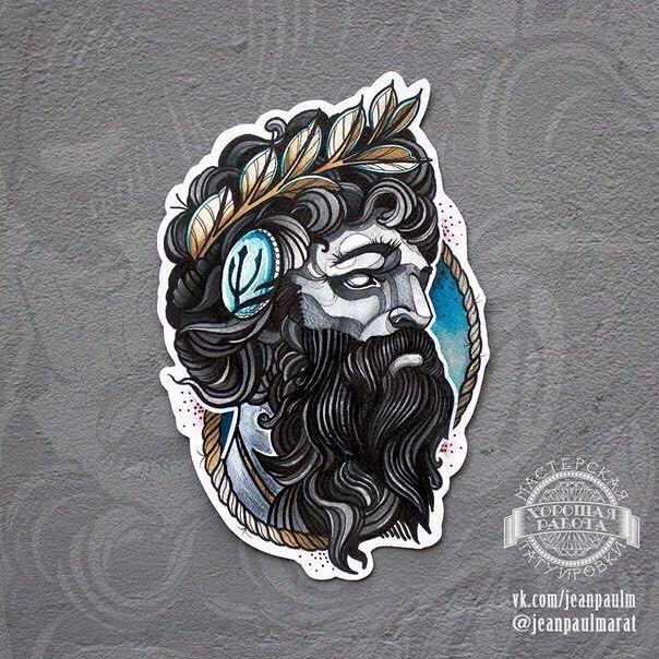 Poseidon Staff Tattoo: Die Besten 25+ Poseidon Tattoo Ideen Auf Pinterest