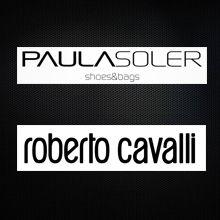 Desde España, bolsos de Paula Soler, desde Italia la ropa sorprendente de Roberto Cavalli