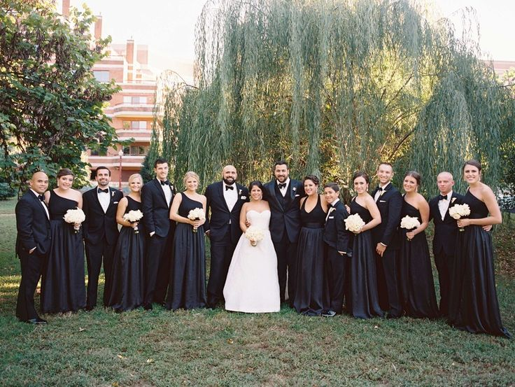 141 best Black & White Wedding Inspiration images on Pinterest ...