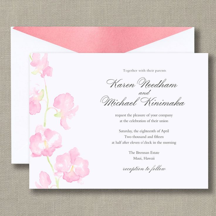 128 best Wedding Invitations images on Pinterest | Products, The o ...