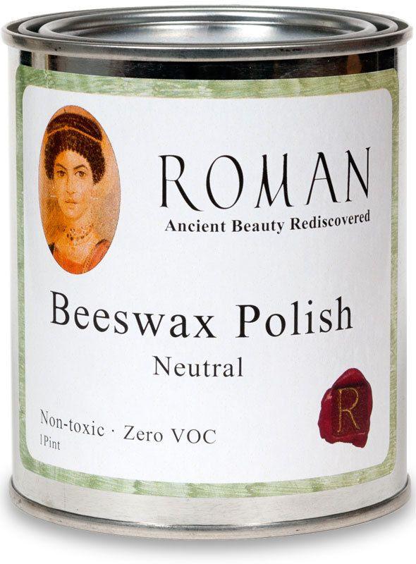 The Earth Pigments Company, LLC - Roman Beeswax Polish, $24.95 (http://www.earthpigments.com/roman-beeswax-polish/)