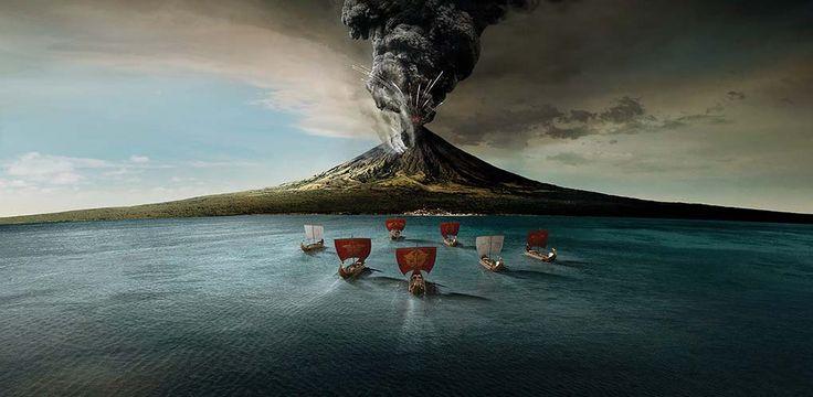 Escape from Pompeii The Untold Roman Rescue