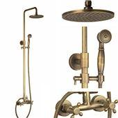 Kaufen (EU Lager) Antik Waschtischarmatur Messing Badzimmer mit Günstigste Preis und Gute Service!