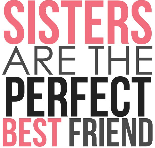 I Love My Sister Picture Quotes: Jane Sarah Blanche Maggi Define This! And Then God Gave Me
