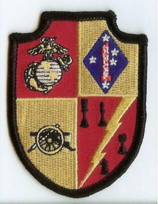 USMC 5th Battalion/11th Marines smaller PATCH 5/11 ARTILLERY 5th Bn/11th Mar OIF
