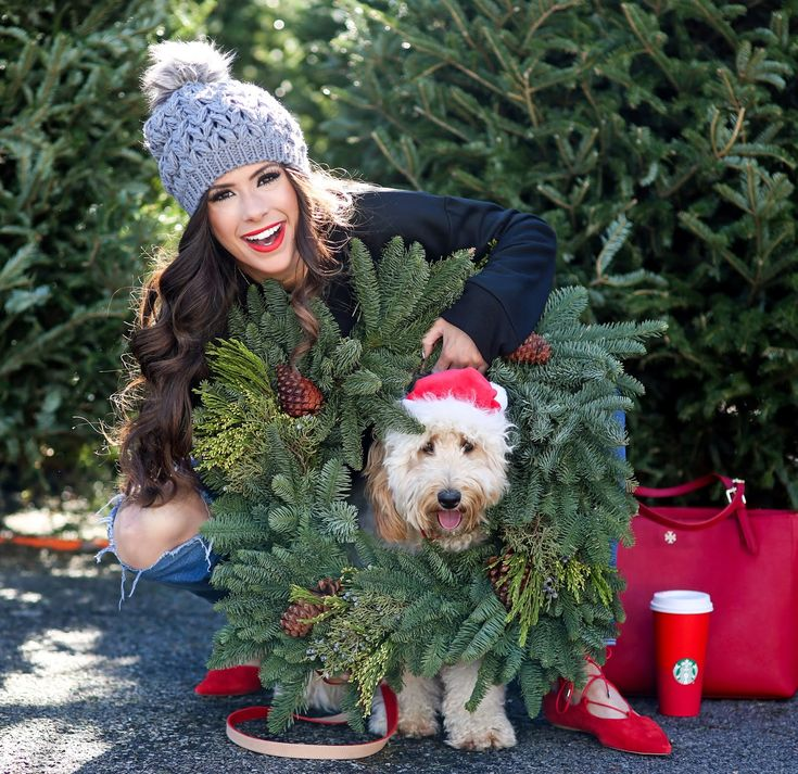 Little Fitz from Okefeild Acres and fashion blogger Emily Gemma - Santa Baby.. | The Sweetest Thing | Bloglovin'
