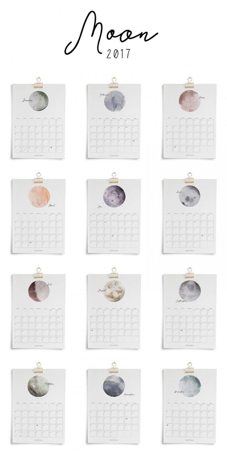 Printable Kalender 2017