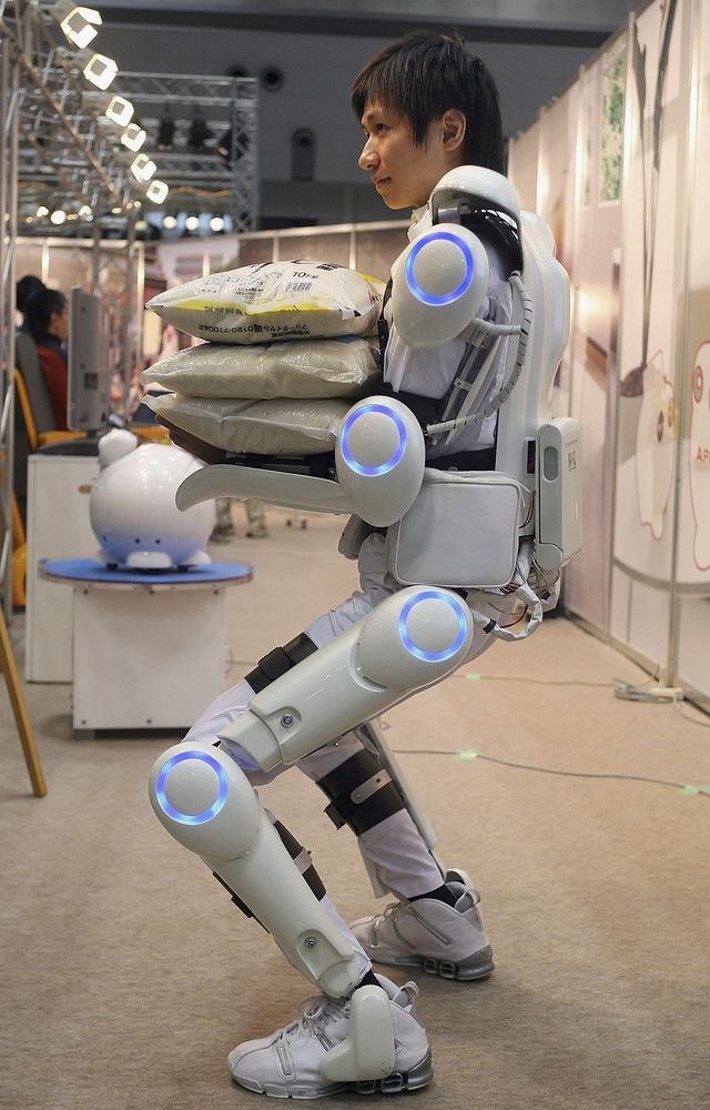 HAL Robot Suit, Robotic Exoskeleton Gets Safety Green Light #robotics #innovation #engiNERD