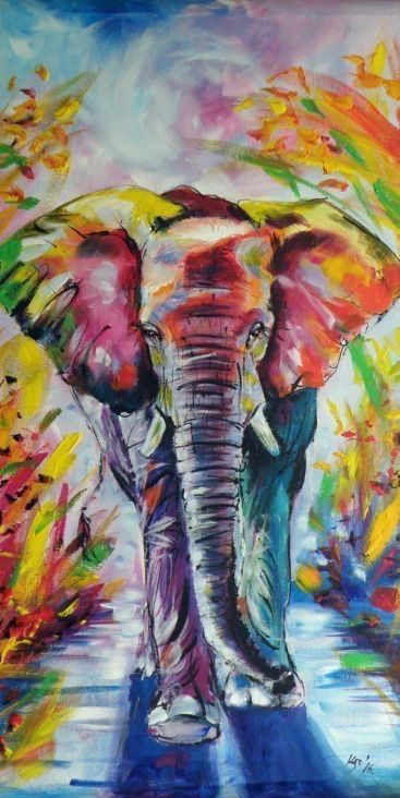 Love This Painting Art Animals Simple Acrylic