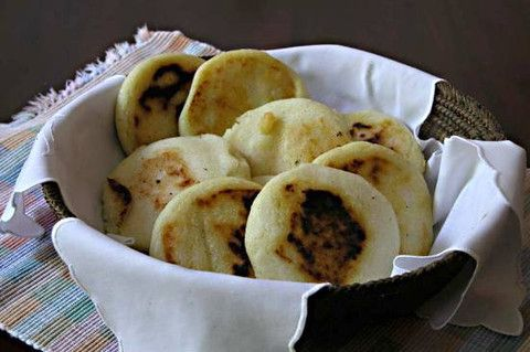 ... main-dishes/10059741-colombian-arepas-griddled-or-grilled-corn-flakes
