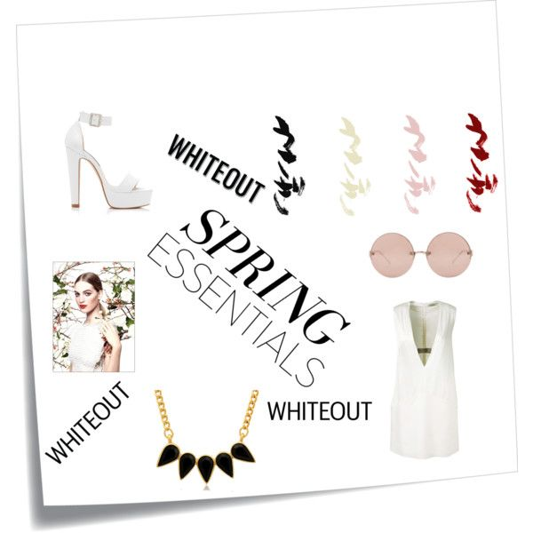 spring essentials by sparklesandally on Polyvore featuring Thierry Mugler, Forever New, George & Laurel, Linda Farrow and Chanel
