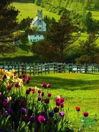 Prince Edward Island, Canada such farms and rich soil ....