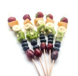 Fruitspiesjes: een heerlijk fris en gezond tussendoortje!